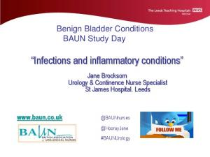 Infections and inflammatory conditions