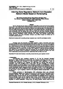 Inferring Gene Regulatory Network from Bayesian Network Model Based on Re-Sampling