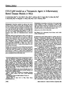 Inflammatory bowel disease (IBD) is a generic term for a