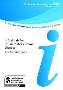 Infliximab for Inflammatory Bowel Disease