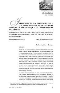 INFLUENCIA DE LA NEUROCIENCIA Y