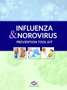 INFLUENZA &NOROVIRUS PREVENTION TOOL KIT