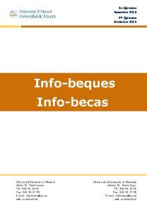 Info-beques Info-becas