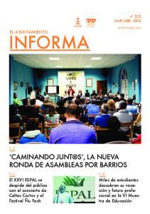 INFORMA CAMINANDO LA NUEVA RONDA DE ASAMBLEAS POR BARRIOS