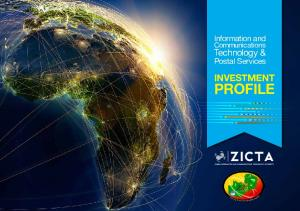 Information and. Communications. Technology & Postal Services INVESTMENT PROFILE