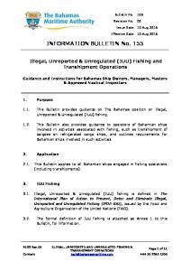 INFORMATION BULLETIN No. 155