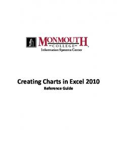 Information Systems Center. Creating Charts in Excel 2010 Reference Guide