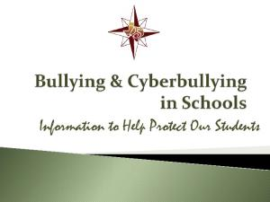 Information to Help Protect Our Students