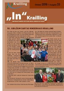 INFORMATIONEN AUS DEM KRAILLINGER RATHAUS