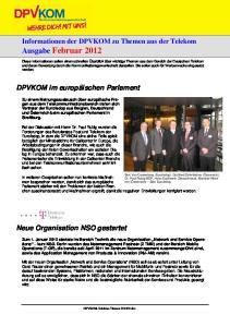 Informationen der DPVKOM zu Themen aus der Telekom