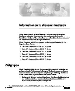 Informationen zu diesem Handbuch