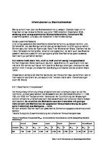 Informationen zu Steinmahlwerken