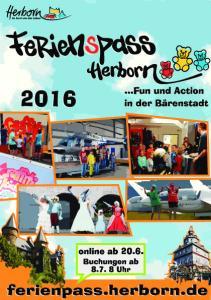 Informationen zum Ferienpass 2016 der Stadt Herborn