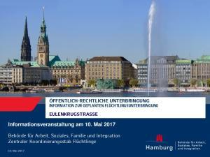 Informationsveranstaltung am 10. Mai 2017
