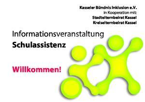 Informationsveranstaltung Schulassistenz