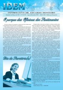 INFORMATIVO DR. EDUARDO MONTEIRO