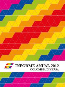 INFORME ANUAL 2012 COLOMBIA DIVERSA