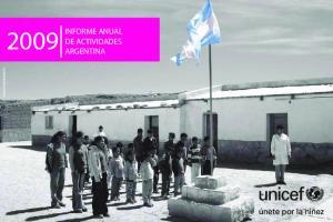 INFORME ANUAL DE ACTIVIDADES ARGENTINA