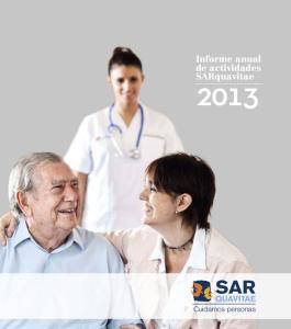 Informe anual de actividades SARquavitae
