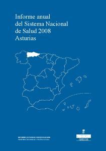 Informe anual del Sistema Nacional de Salud 2008 Asturias