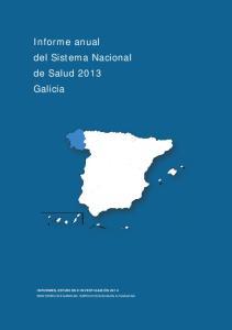 Informe anual del Sistema Nacional de Salud 2013 Galicia