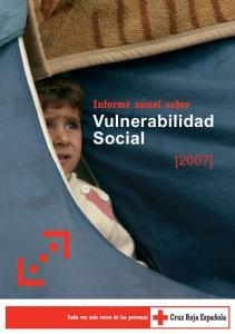 Informe anual sobre Vulnerabilidad Social