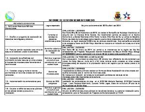 INFORME DE GESTION SCAM INTERMEDIO