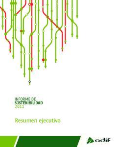 Informe de sostenibilidad resumen ejecutivo