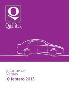 Informe de Ventas Febrero 2013