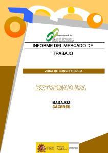 INFORME DEL MERCADO DE TRABAJO ZONA DE CONVERGENCIA