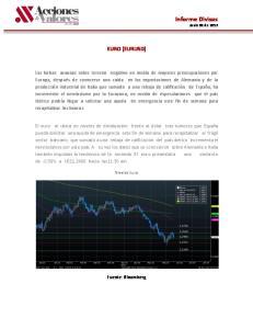 Informe Divisas Junio 08 de 2012