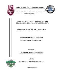 INFORME FINAL DE ACTIVIDADES