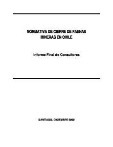 Informe Final de Consultores