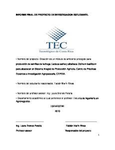 INFORME FINAL DE PROYECTO DE INVESTIGACION ESTUDIANTIL