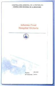 Informe Final Hospital Victoria