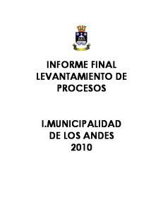 INFORME FINAL LEVANTAMIENTO DE PROCESOS