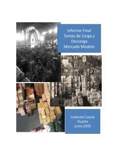 Informe Final Tareas de Carga y Descarga Mercado Modelo
