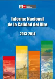 INFORME NACIONAL DE LA CALIDAD DEL AIRE