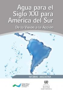 INFORME SOBRE LA GESTION DEL AGUA EN LA REPUBLICA ARGENTINA