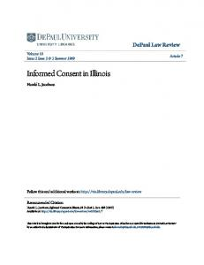 Informed Consent in Illinois