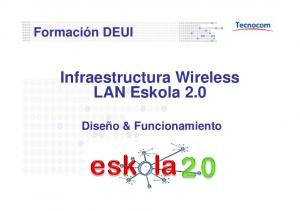 Infraestructura Wireless LAN Eskola 2.0