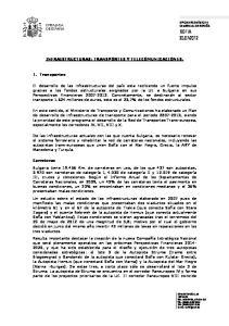 INFRAESTRUCTURAS: TRANSPORTES Y TELECOMUNICACIONES