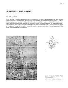 INFRAESTRUCTURAS Y MAPAS