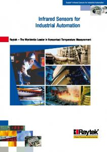 Infrared Sensors for Industrial Automation