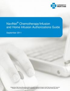 Infusion and Home Infusion Authorizations Guide