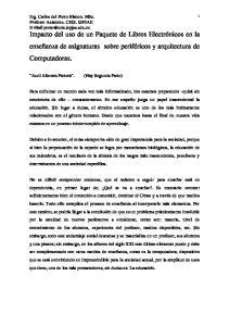 Ing. Carlos del Porto Blanco. MSc
