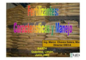 Ing. Marco Chaves Solera, Msc Director DIECA