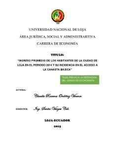 Ing. Santos Vargas Celi