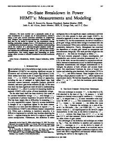 InGaAs high electron mobility