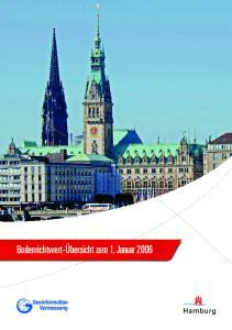 Inhaltsverzeichnis. Erläuterungstext Bezirk Hamburg-Mitte Bezirk Altona Bezirk Eimsbüttel
